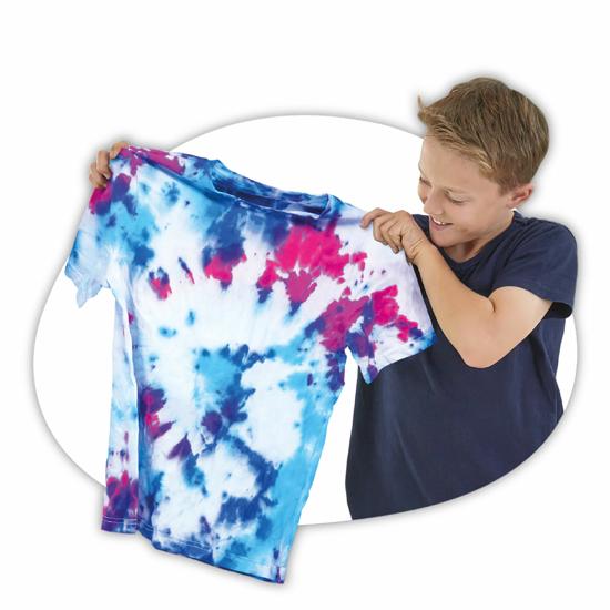 Poza cu Set creativ Tybo Tie Die - Studio colorare tricouri