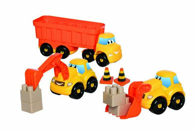 Picture of Set Camion constructii cu remorca Ecoiffier