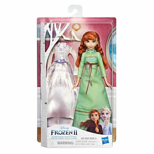 Picture of Papusa Hasbro Anna din Arendelle Fashion Frozen II