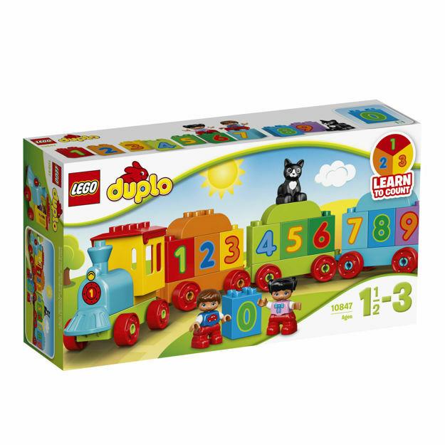 Picture of LEGO DUPLO - Trenul cu numere 10847