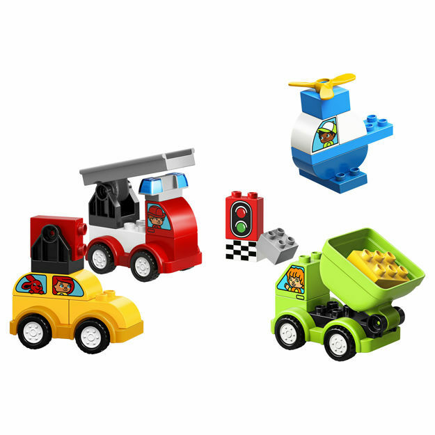 Picture of LEGO DUPLO - Primele mele masini creative 10886