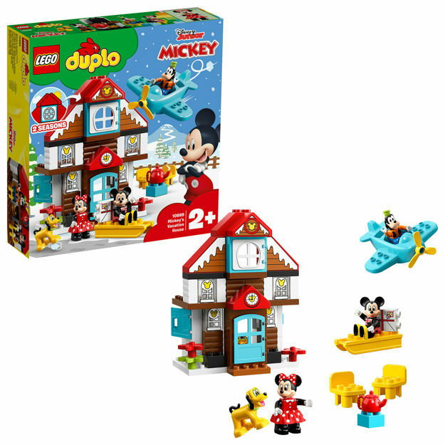 Poza cu LEGO DUPLO Disney - Casa de vacanta a lui Mickey 10889