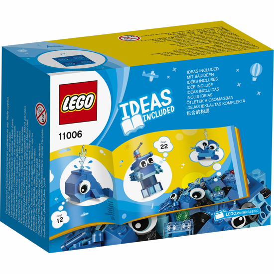 Снимка на LEGO Classic - Caramizi creative albastre 11006