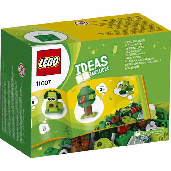 Снимка на LEGO Classic - Caramizi creative verzi 11007