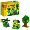 Poza cu LEGO Classic - Caramizi creative verzi 11007