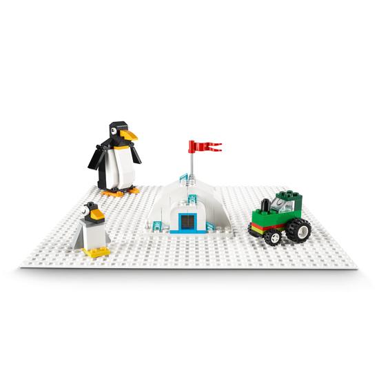 Снимка на LEGO Classic - Placa de baza alba 11010