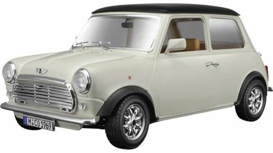 Снимка на Macheta Bburago Mini Cooper 1969, 1:18