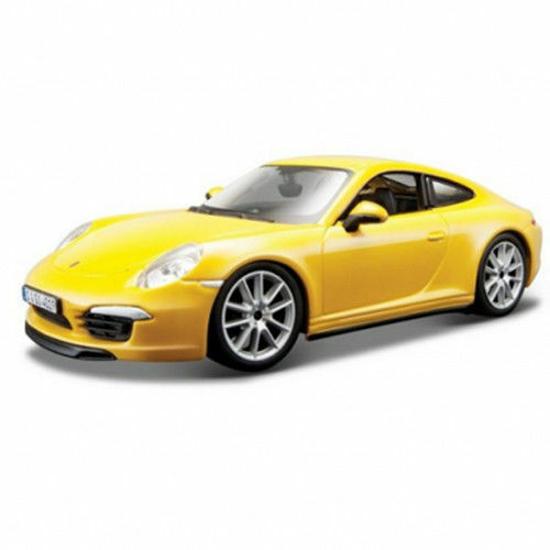 Снимка на Minimodel Auto Bburago Porsche 911 Carrera S Galben 1:24