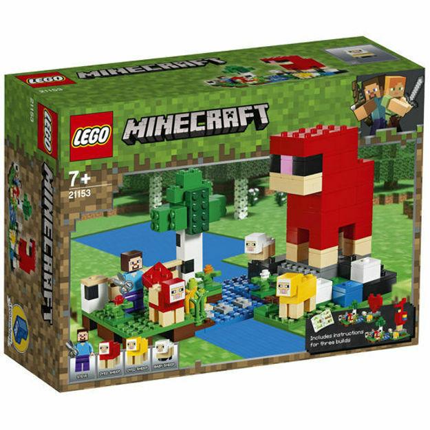 Picture of LEGO Minecraft - Ferma de lana 21153