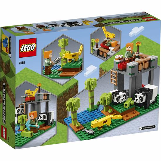 Снимка на LEGO Minecraft - Gradinita panda 21158