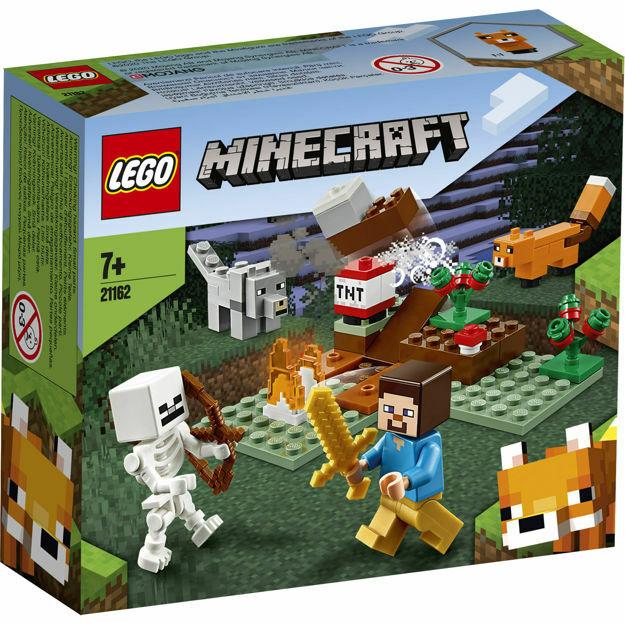Poza cu LEGO Minecraft - Aventura din Taiga 21162