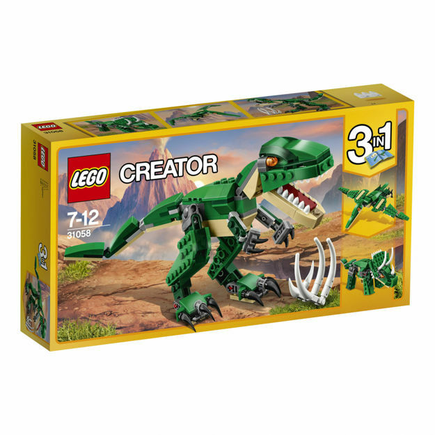 Poza cu LEGO Creator - Dinozauri puternici 31058