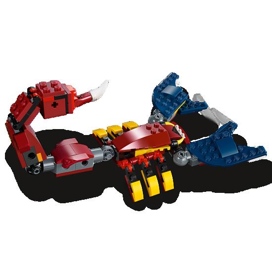 Poza cu LEGO Creator - Dragon de foc 31102