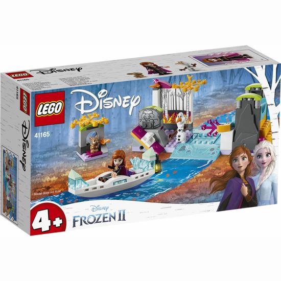 Снимка на LEGO Disney Frozen II - Expeditia cu canoe a Annei 41165