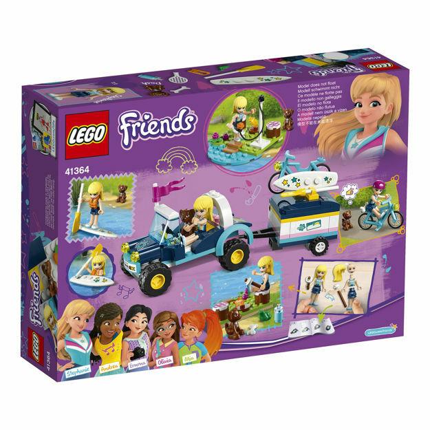 Poza cu LEGO® Friends - Vehiculul cu remorca al Stephaniei 41364