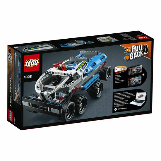Poza cu LEGO Technic - Urmarirea politiei 42091