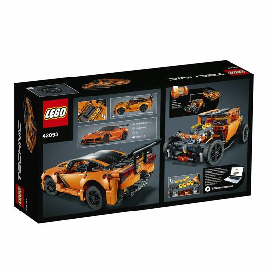 Poza cu LEGO Technic - Chevrolet Corvette ZR1 42093