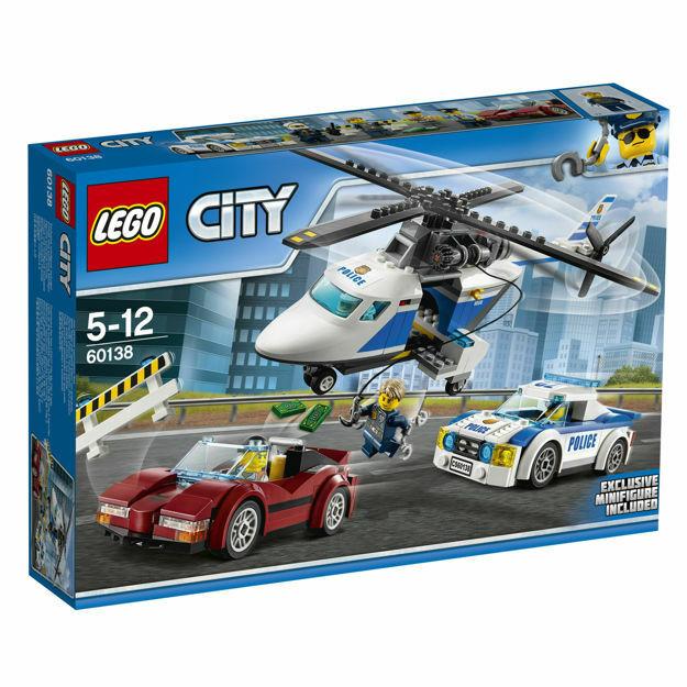 Poza cu LEGO® City Police - Urmarire de mare viteza 60138