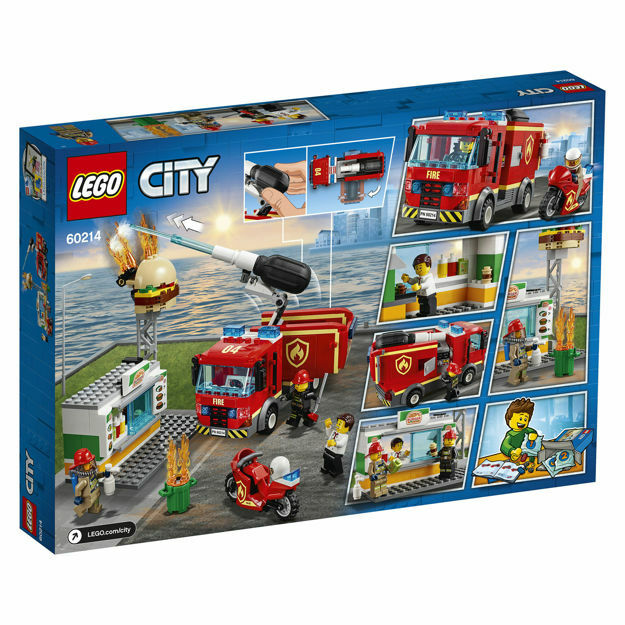 Picture of LEGO City Fire - Stingerea incendiului de la Burger Bar 60214