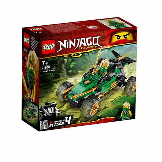 Снимка на Lego Ninjago, Jungle Raider, 127 piese, 71700