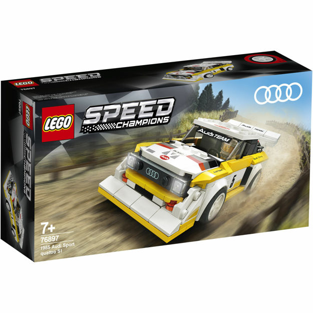Poza cu LEGO Speed Champions - Audi Sport Quattro S1 76897