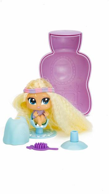 Poza cu Mini papusa hairdooz cu accesorii in sticluta