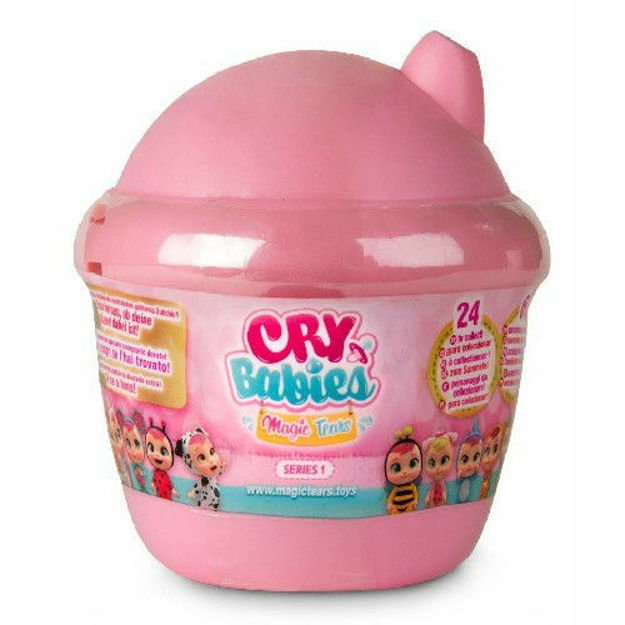 Poza cu Bebelus Mini Cry Babies Magic Tears in Casuta Surpriza , Roz