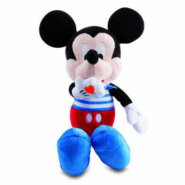 Poza cu Plus cu sunete Mickey Mouse pupici 33 cm IMC