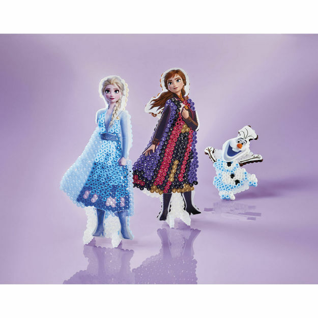 Poza cu Set de artizanat Totum- Do it yourself - Figureaza Frozen cu margele