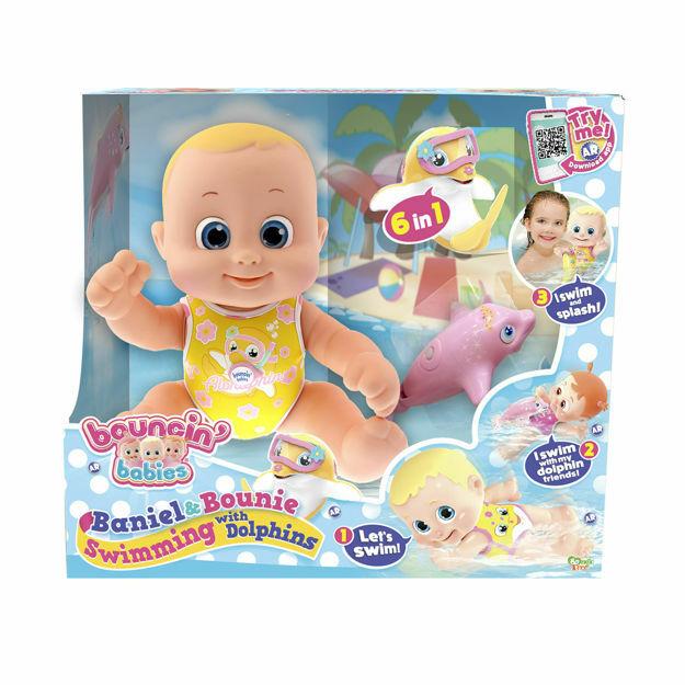 Picture of Papusa Bouncin' Baby, Inoata cu delfinii - Baietel Baniel