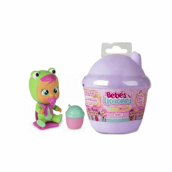 Снимка на Bebelus Mini Cry Babies Magic Tears in Casuta Surpriza , Mov