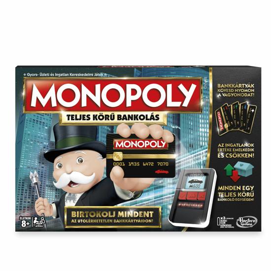 Poza cu Monopoly Ultimate Banking in limba maghiara