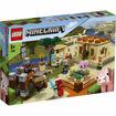 Poza cu LEGO Minecraft - The Illager Raid 21160