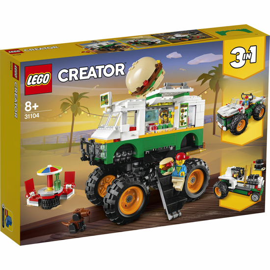 Снимка на LEGO Creator - Camion gigant cu burger 31104