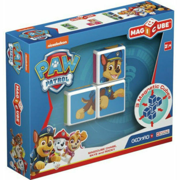Picture of Set de constructie magnetic Geomag, Magicube - Paw Patrol, Chase, Skye si Rocky