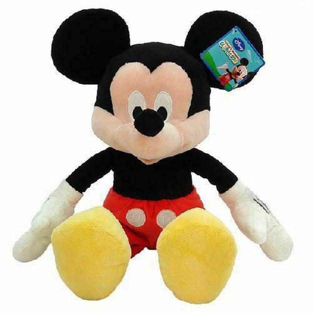Poza cu Mascota Plus Mickey Mouse 35 Cm Club House
