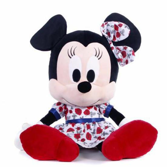 Poza cu Mascota de Plus I Love Minnie Rosie 25 cm