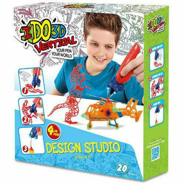 Picture of IDO3D - Set 4 Creioane 3D Portocaliu