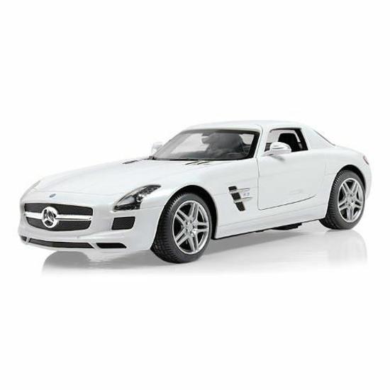 Снимка на Mercedes SLS AMG cu Telecomanda 1:14 Alb