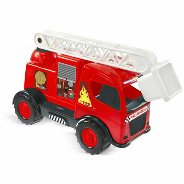 Poza cu Masinuta de Pompieri cu Scara Extensibila