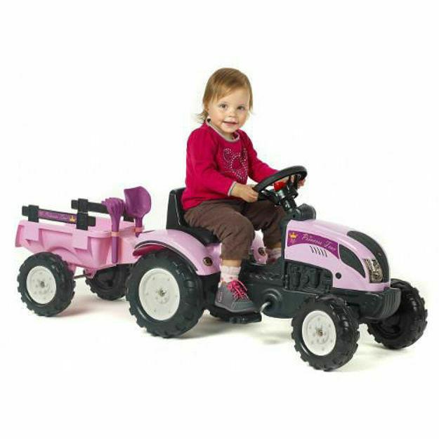 Picture of Tractor Princess cu Remorca