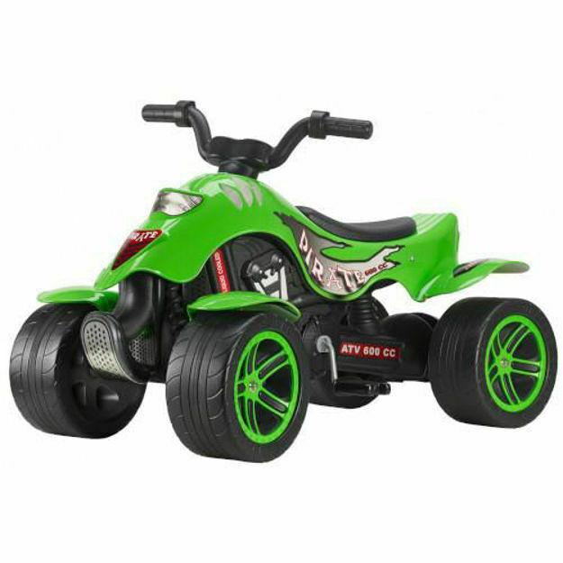 Poza cu ATV cu Pedale Quad Green Pirate