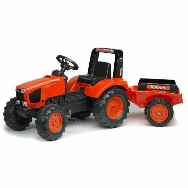 Picture of Tractor Kubota cu Remorca