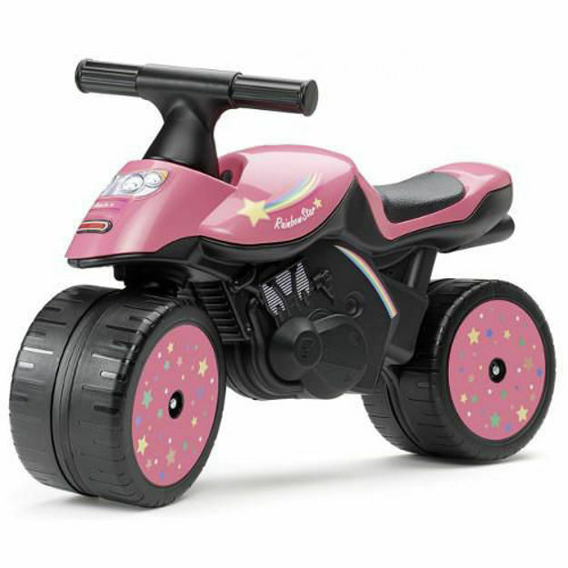 Picture of Vehicul fara Pedale Moto Rainbow Star