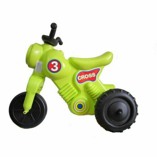 Picture of Cross Motorbike Verde