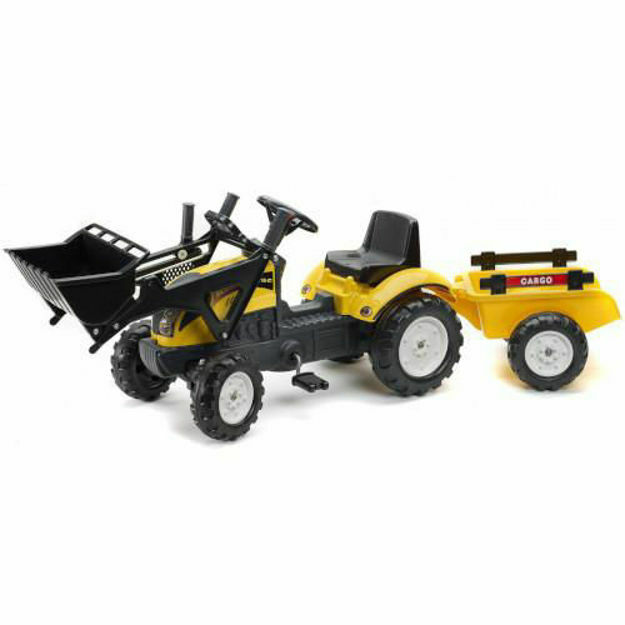 Picture of Tractoras Constructor cu Cupa si Remorca