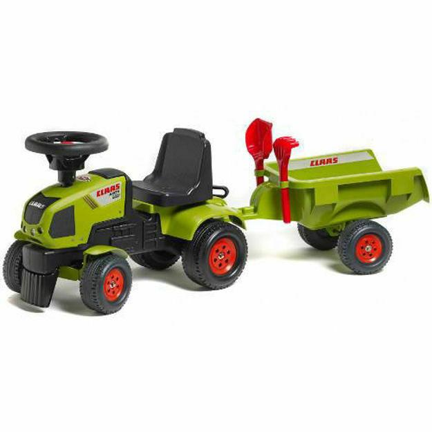 Picture of Tractoras Baby Axos cu Remorca