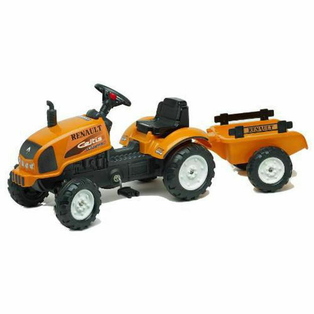 Picture of Tractor cu Pedale si Remorca Renault Celtis 436RX