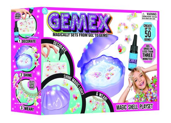 Снимка на Gemex set creare bijuterii cu scoica magica