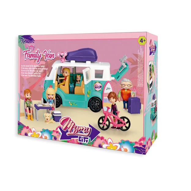 Poza cu Mymy City - furgoneta de familie